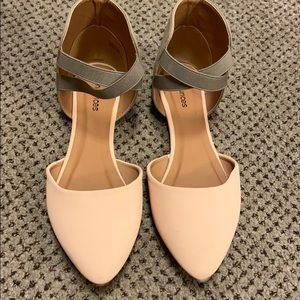 Maurices flat pointed toe shoes size 8